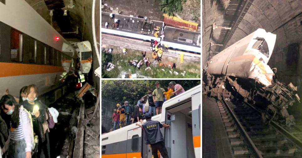50 Dead In Taiwan Tunnel Train Crash