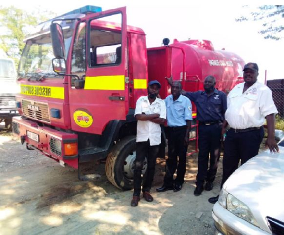 Hwange Fire Squad Trains Sino Hydro Workers On Averting Accidents
