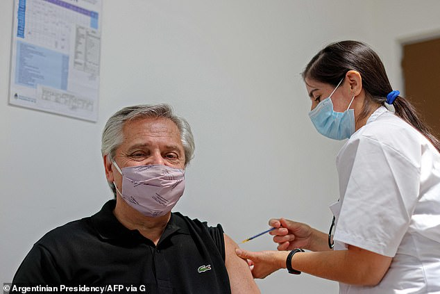 Argentina's President Tests Covid Positive Despite Getting Vaccinated In January