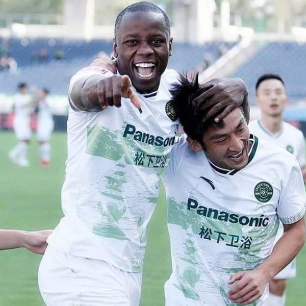 Mushekwi Topping Scoring Charts In Chinese League One