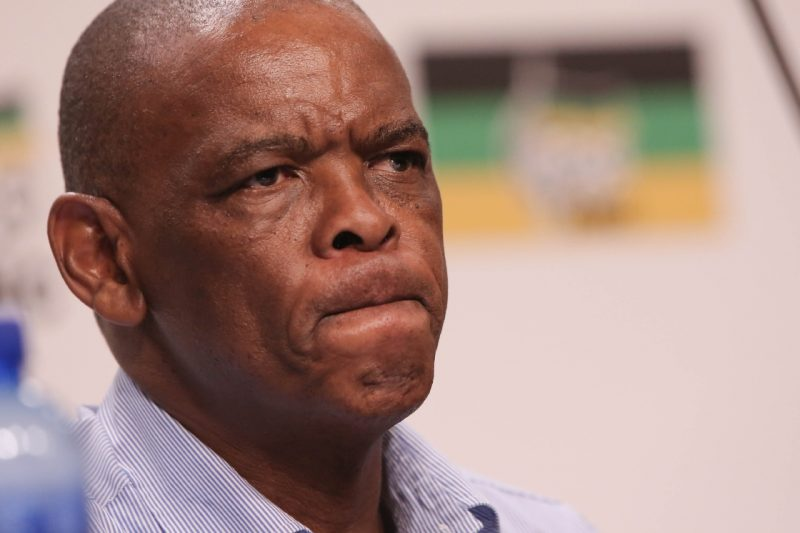 Ace Magashule Kicked Out Of Heated ANC NEC Meeting