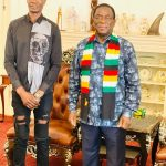 Mangwana Fumes As Zanu PF Youth Leader Shows Up 'Inappropriately Dressed' To Meet ED