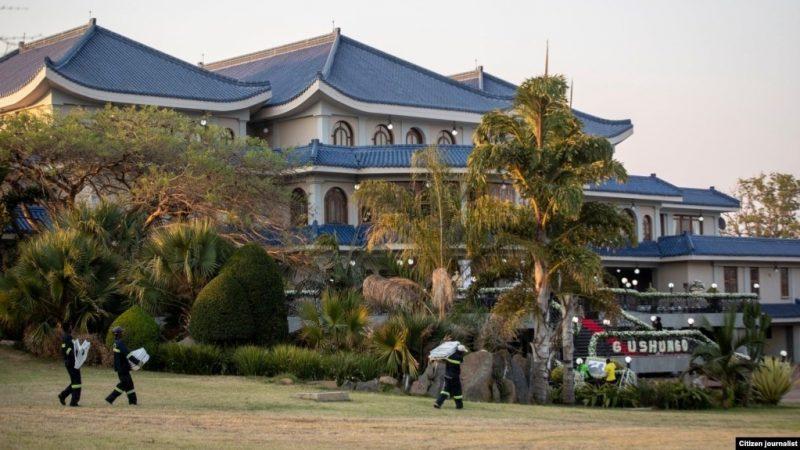 Leo Mugabe Says Family Has Shared Late Robert Mugabe's Property