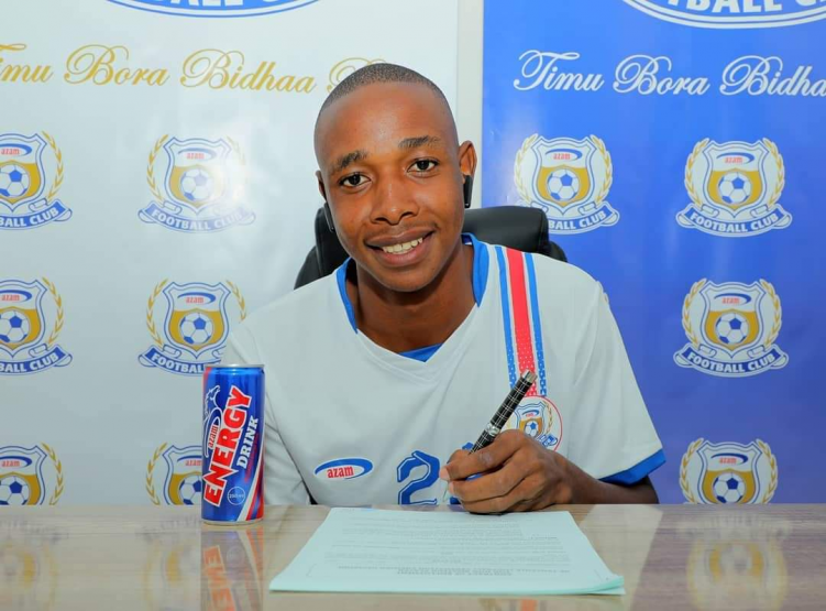 Prince Dube Signs New Contract With Tanzanian Club Azam