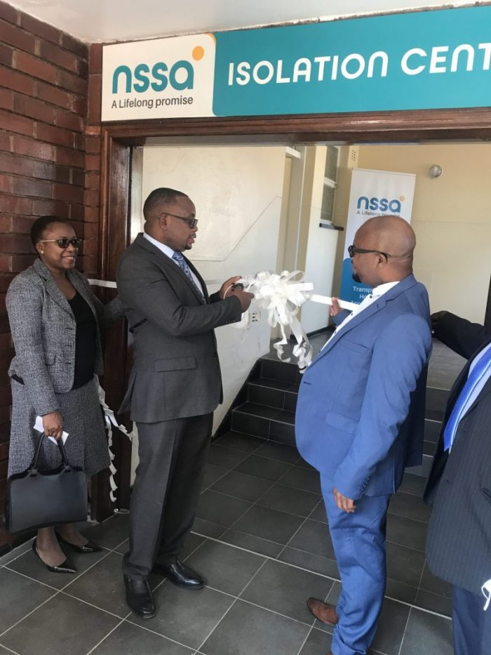 NSSA Sets Up Covid Isolation Centre Amid Third Wave Fears