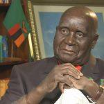 Kenneth Kaunda Being Treated For Pneumonia