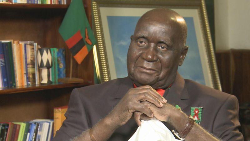 Memorial Held For Zambia's President Kenneth Kaunda