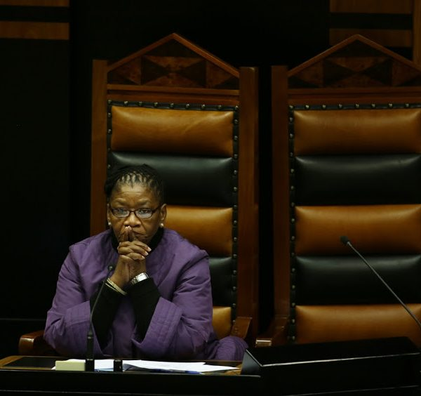 'We Shall Overcome This Traumatic Period,' Says SA Parly