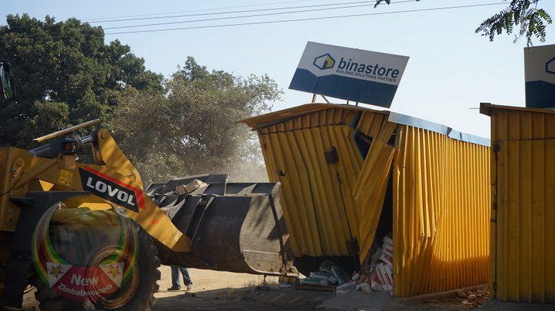 'Demolitions Expose Policy Discord In Govt': ZCTU