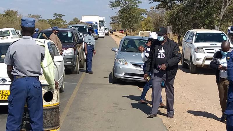 No Vehicles Leaving, Entering Kwekwe As Police Tighten Lockdown