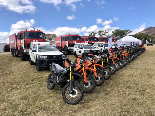 Zim Gets New Vehicles To Fight Forest Fires