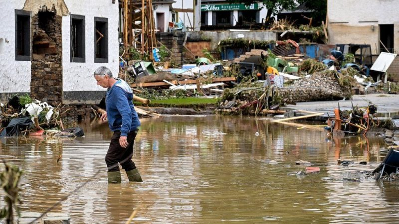 80 Dead, Hundreds Missing In Germany floods
