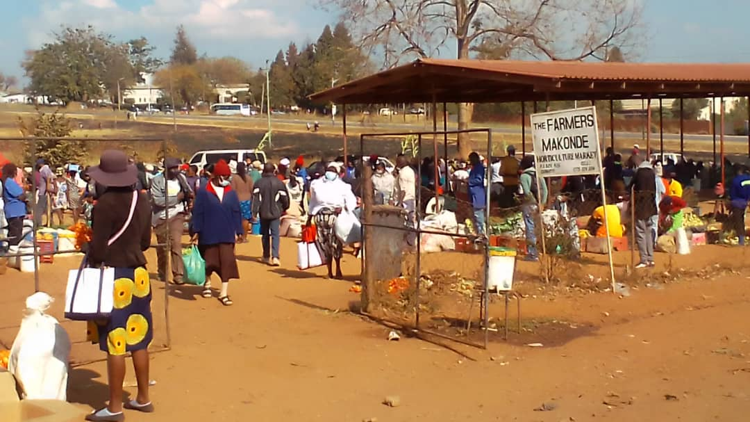 Congested Chinhoyi Farmers' Market Spawning New Covid-19 Cases, Deaths