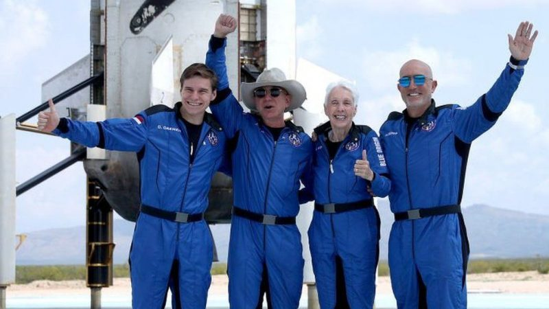 Jeff Bezos, Sir Richard Branson Not Astronauts, US
