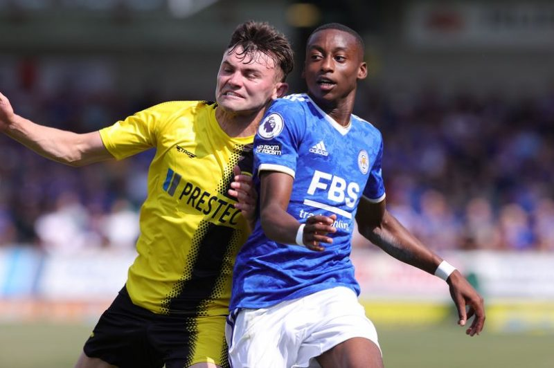 Tawanda Masvanhise Impresses On Leicester City Debut