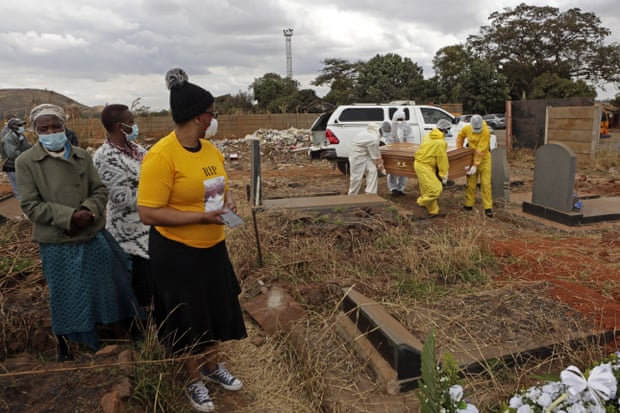 Zimbabwe Struggles With Surge In Covid Burials
