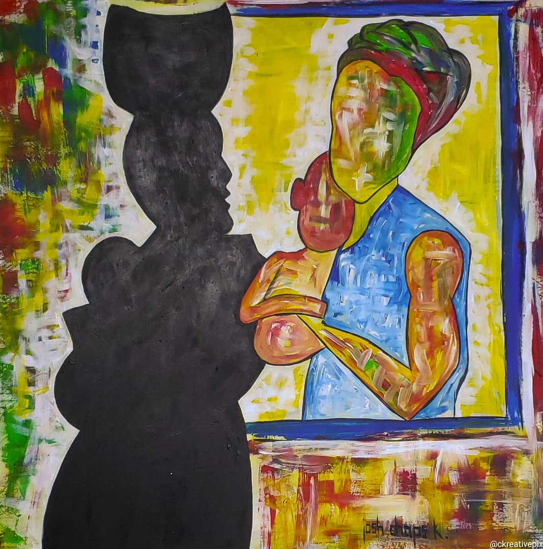Visual Artist Honors Women With Riveting Art Piece