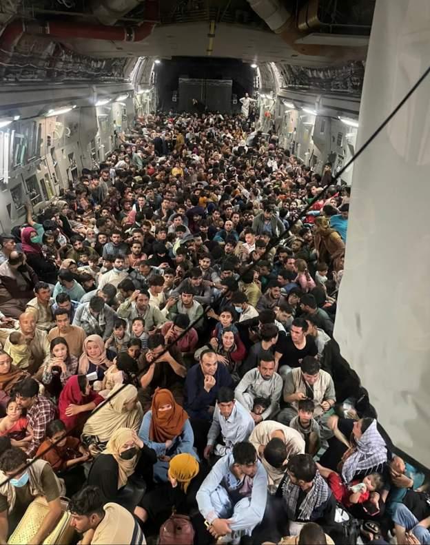 Taliban Beating Afghan Fleeing Kabul