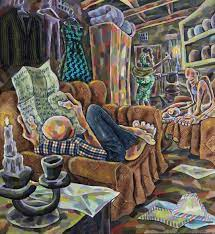 Visual Artist Breathes Life Into Mundane Covid Isolation With Magnificent Paintings