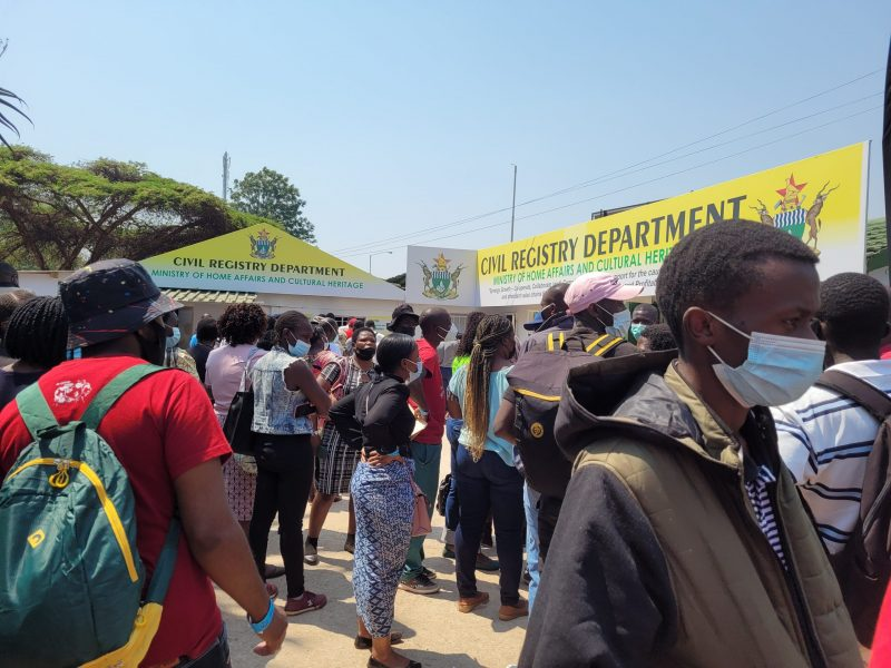 Hundreds Besiege Harare Agric Show For National IDs