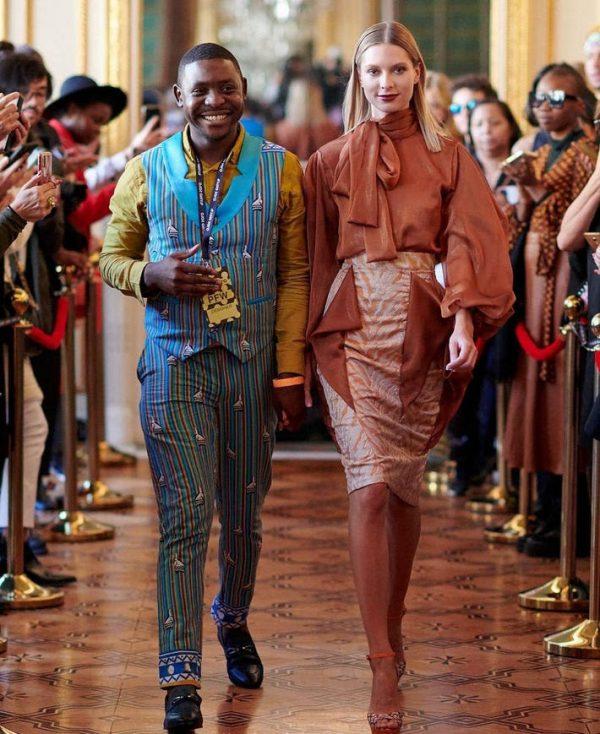 Zim Designer, Tsakatsa Blows Up At Paris Fashion Week