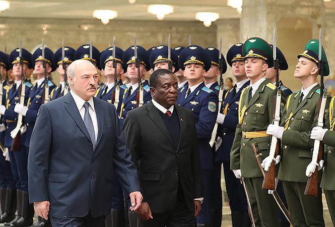 Belarus Elites' Golden Deals With Mnangagwa
