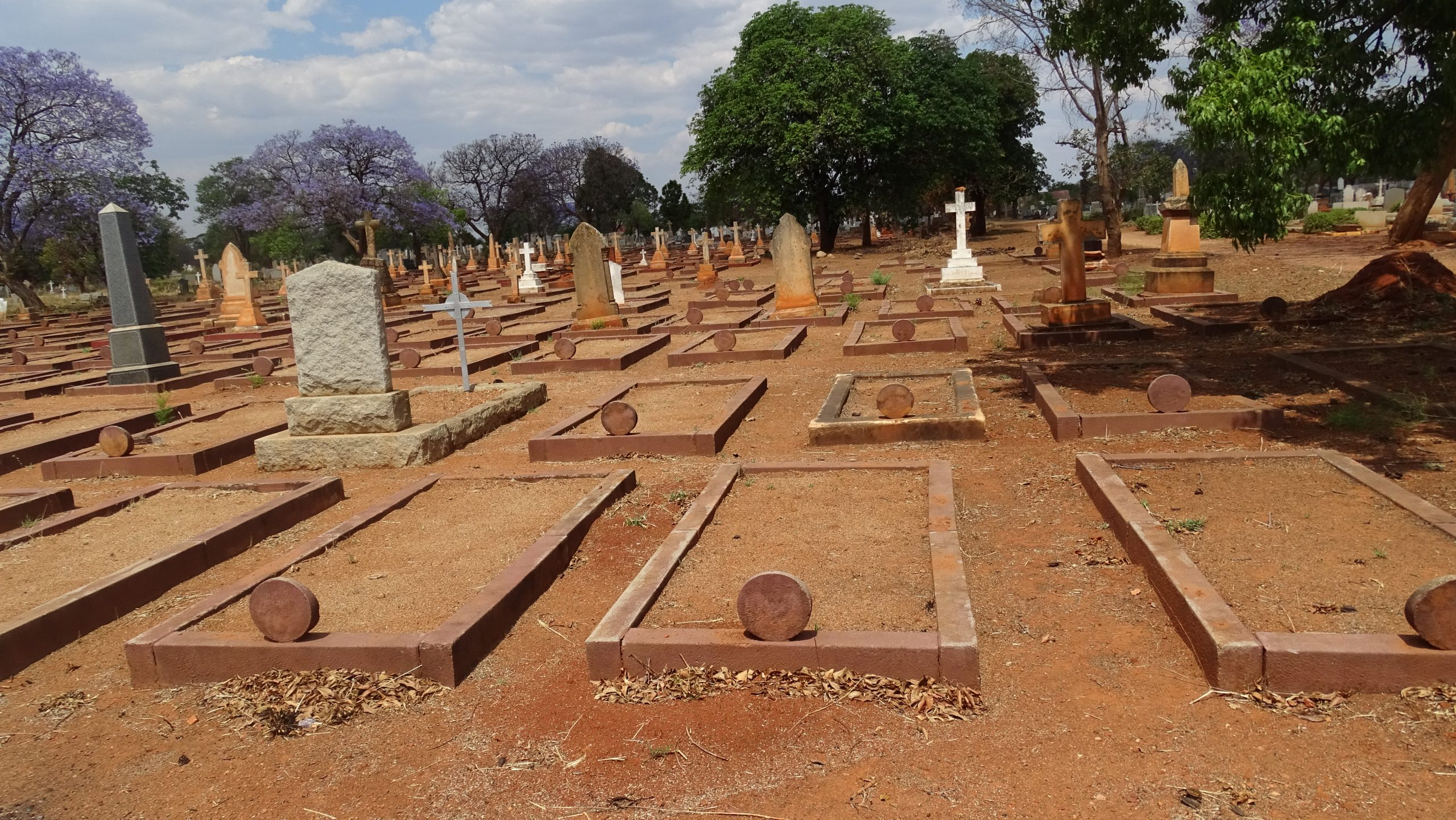 Vandals Target 19th Century White Settlers' Graves