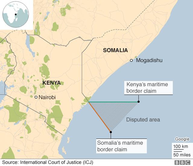 ICJ Rejects Kenya Case In Somalia Maritime Border Row