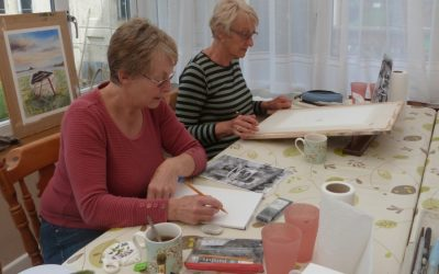 Watercolour Course – Monday 6th January 2020 (Morning)