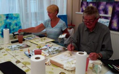 Watercolour Course – Tuesday 7th January 2020 (Morning)