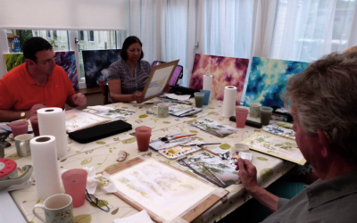 Watercolour Course – Tuesday 7th January 2020 (Afternoon)