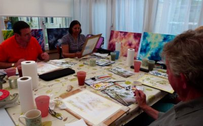 Watercolour Course – Wednesday 8th January 2020 (Afternoon)
