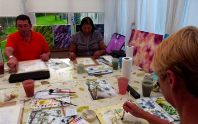 Watercolour Course – Wednesday 8th January 2020 (Evening)