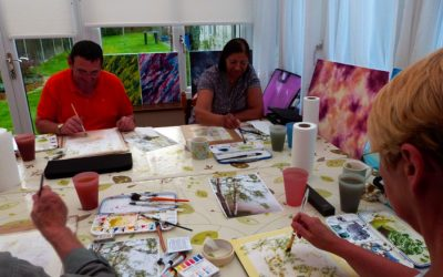 Watercolour Course – Thursday 9th January 2020 (Morning)
