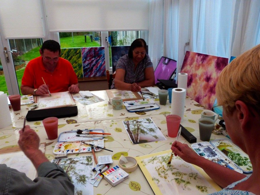 Watercolour Course – Thursday 26th September 2019 (Morning)
