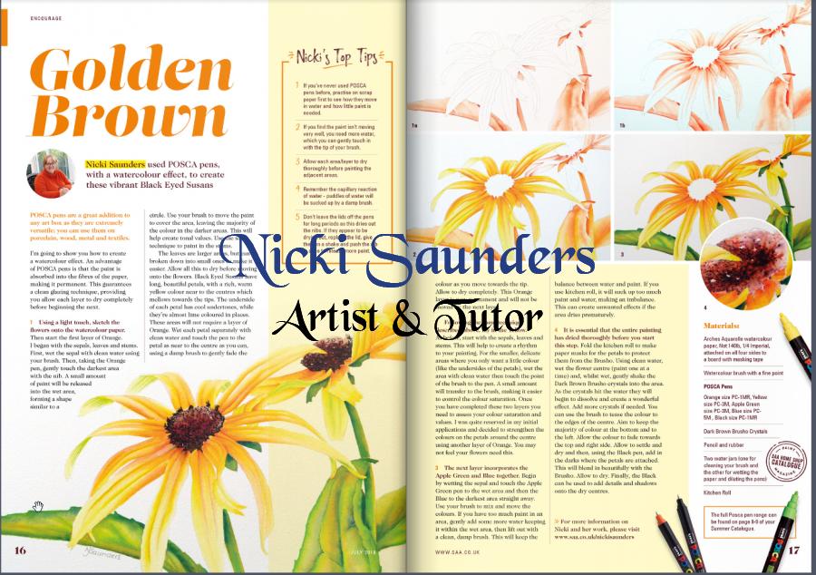 SAA Paint Magazine Article