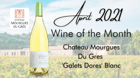 Wine of the Month - Apr 21
