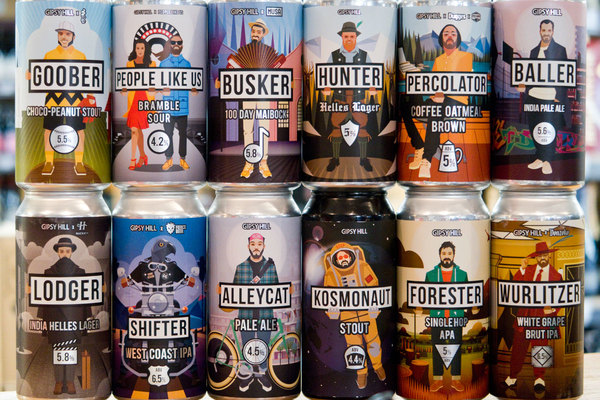The Beers Of Gipsy Hill