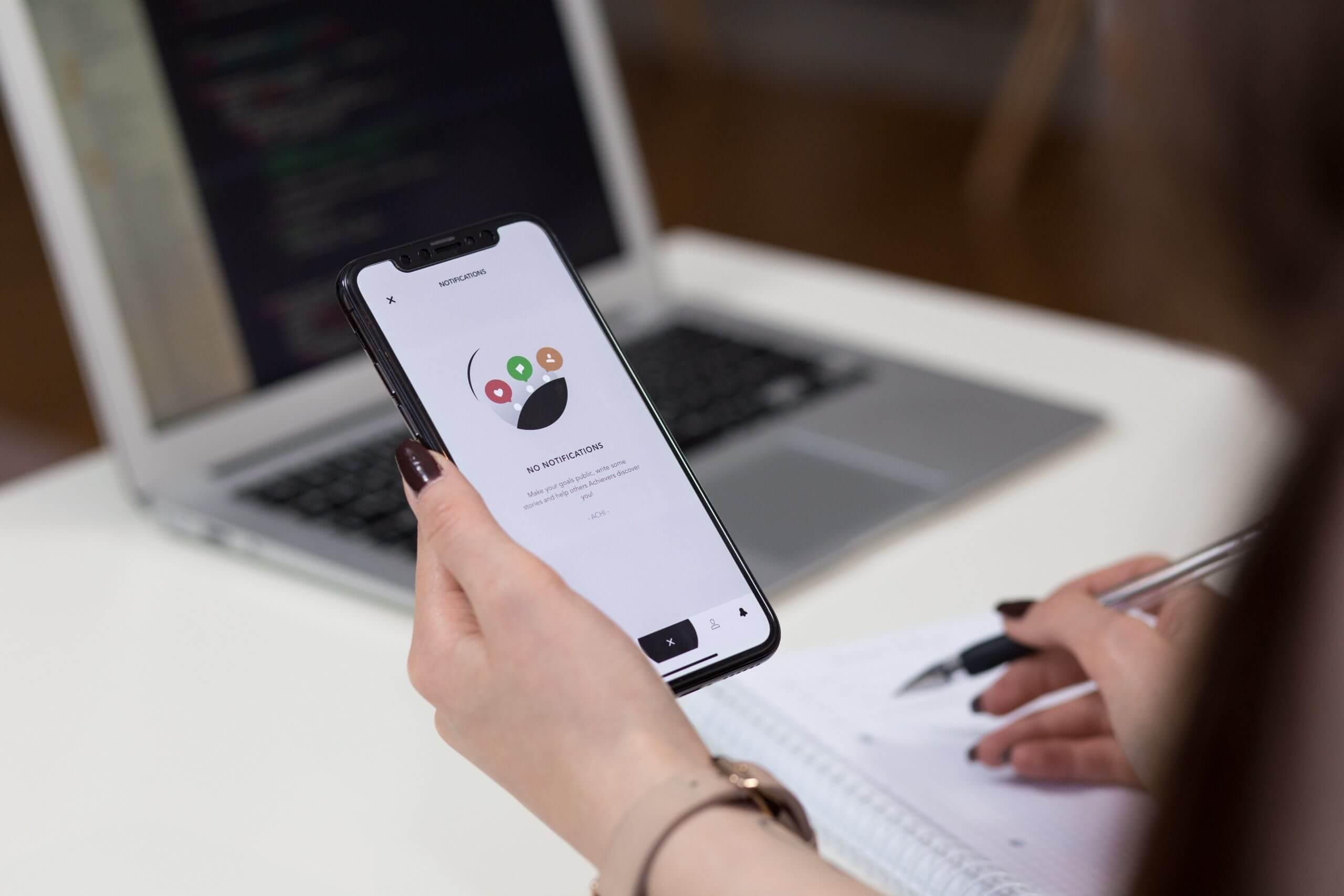 Responsive-Website-Design-Woman-Holding-Phone