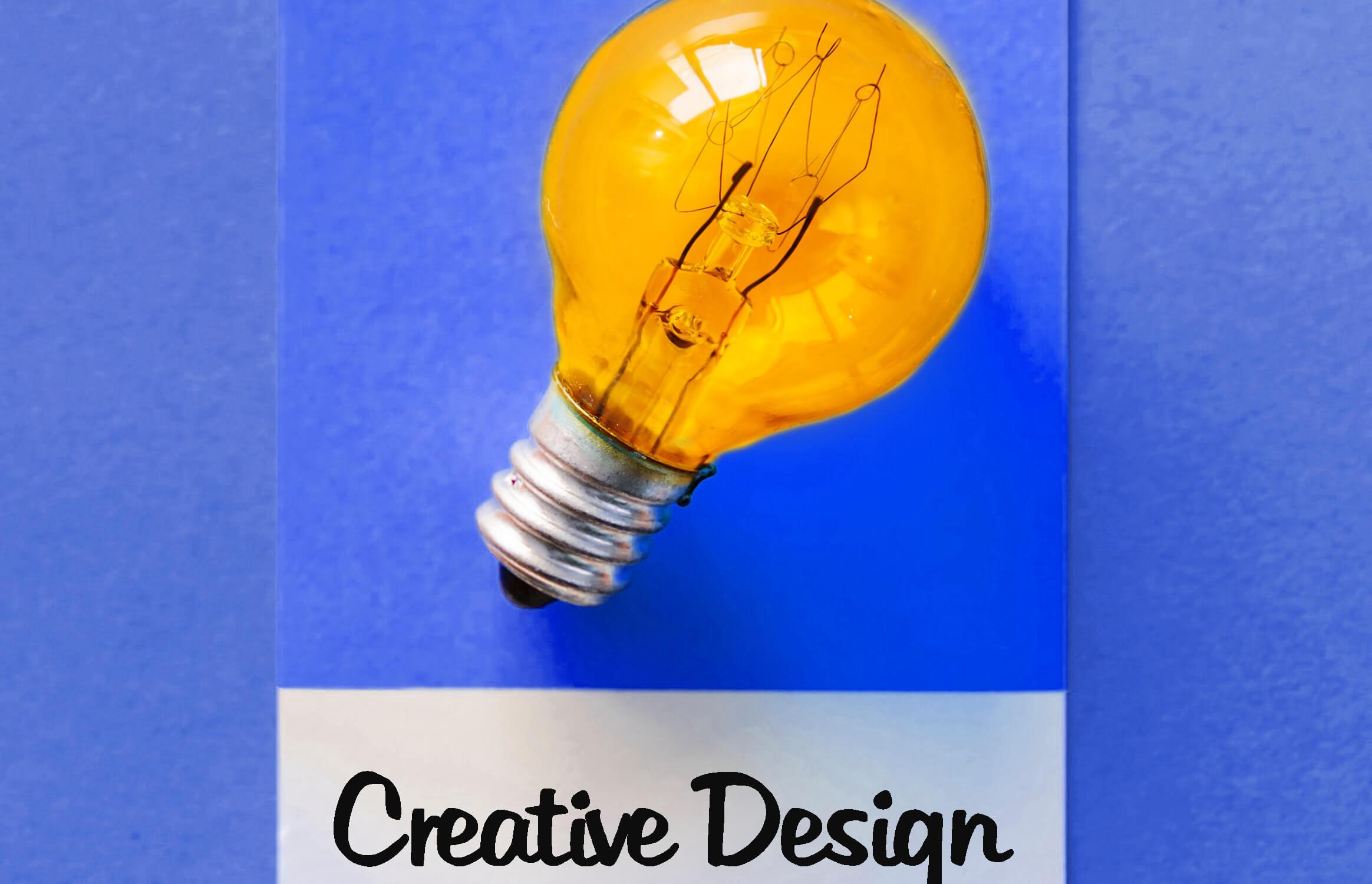 Creative Design - Ligthbulb Polaroid