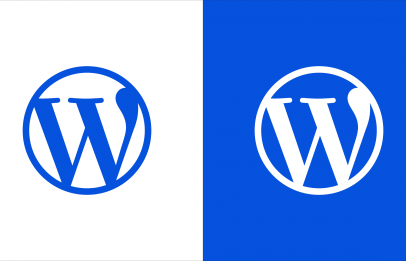 Wordpress Org vs Com - Featured Image of WordPress icon in blue and another in white