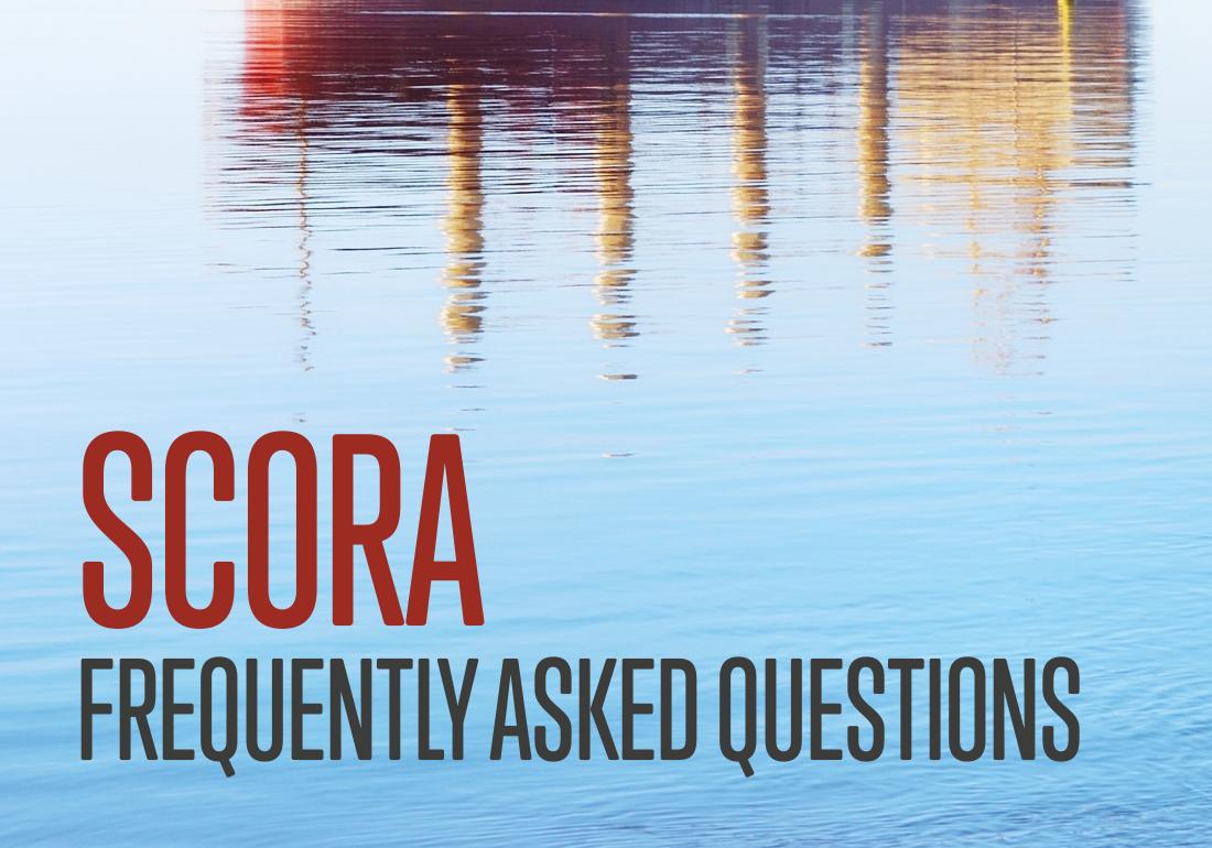 SCORA FAQs