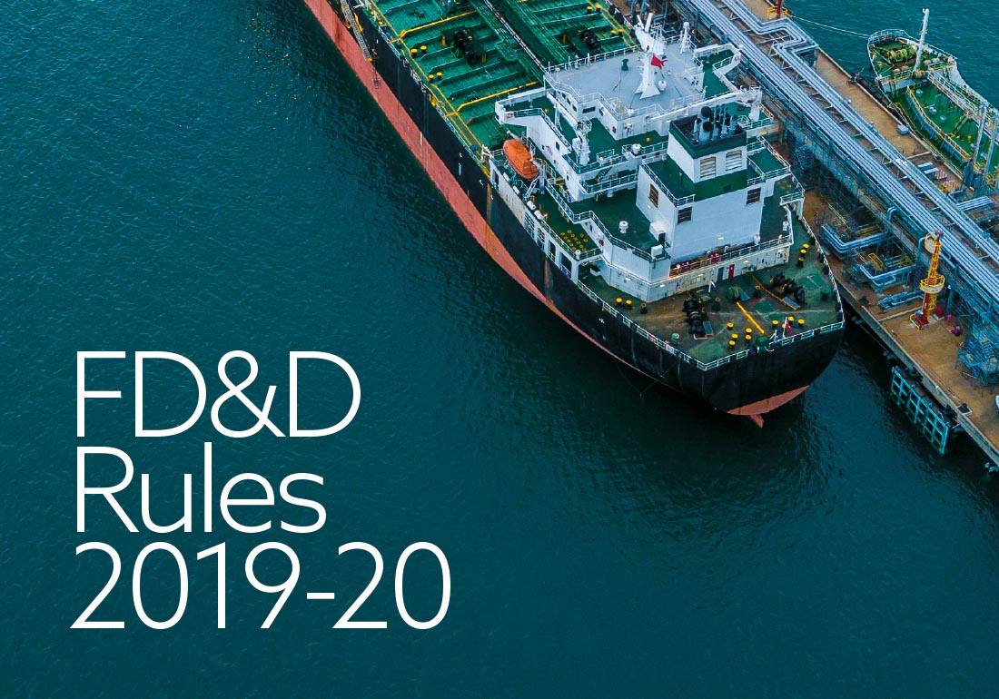 The FD&D Rules for the 2019-20 Policy Year.