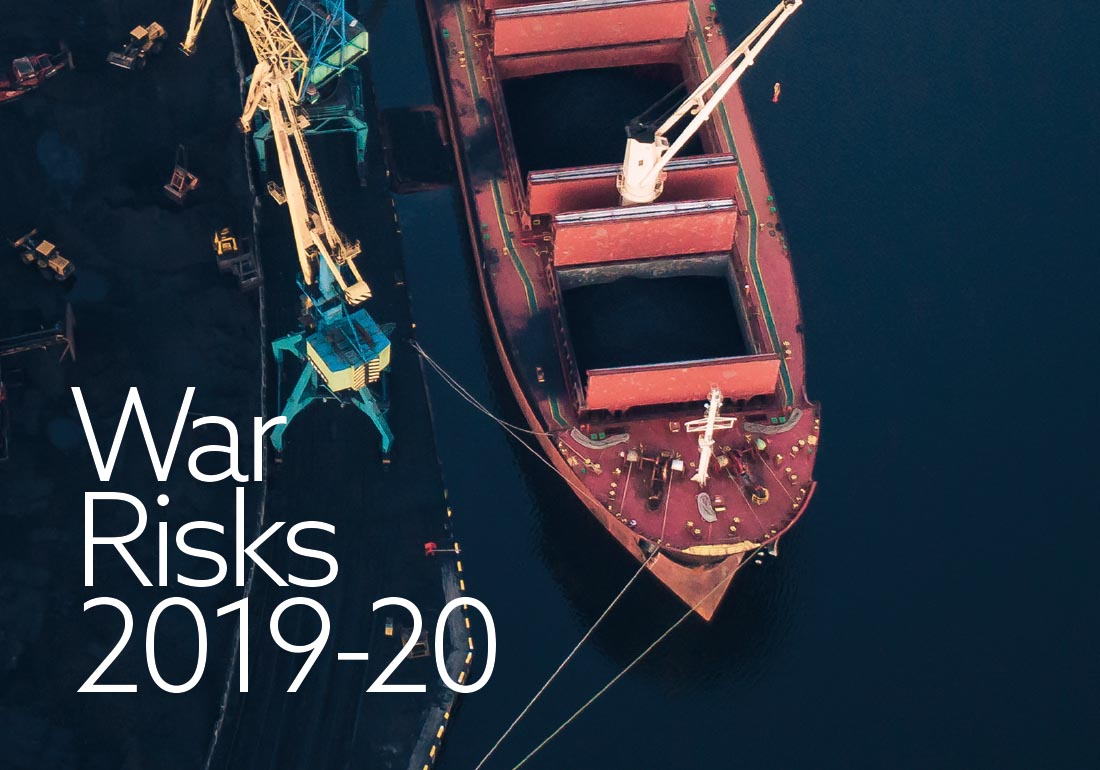 The War Risks Rule Book for the 2019-20 Policy Year.
