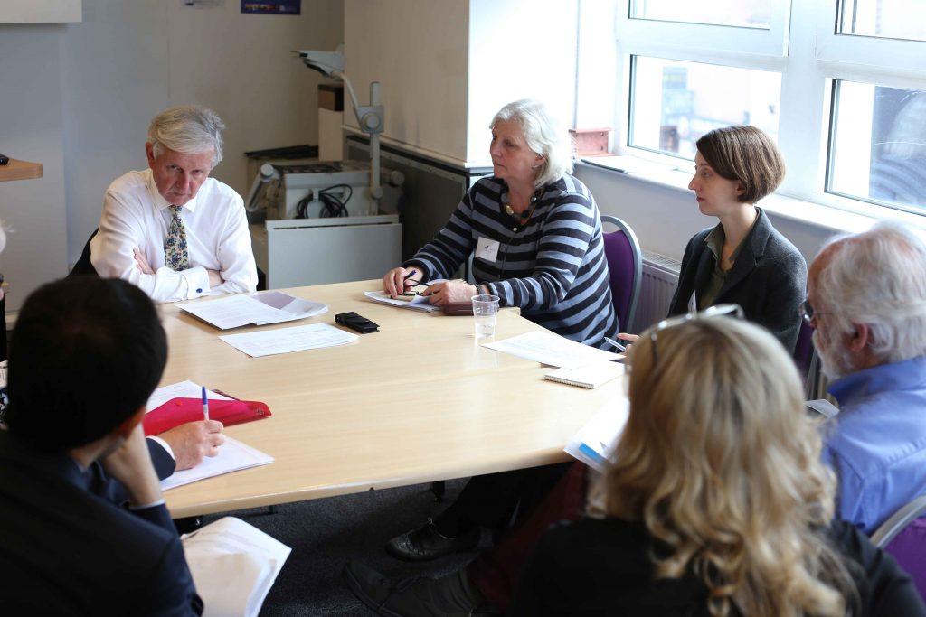 NPM members in meeting