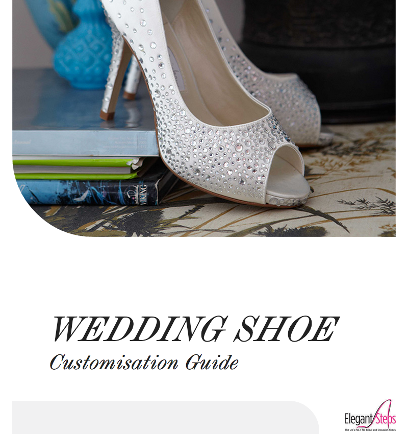 8c59b0388 Elegant Steps help brides to step out in style with Wedding Shoe ...