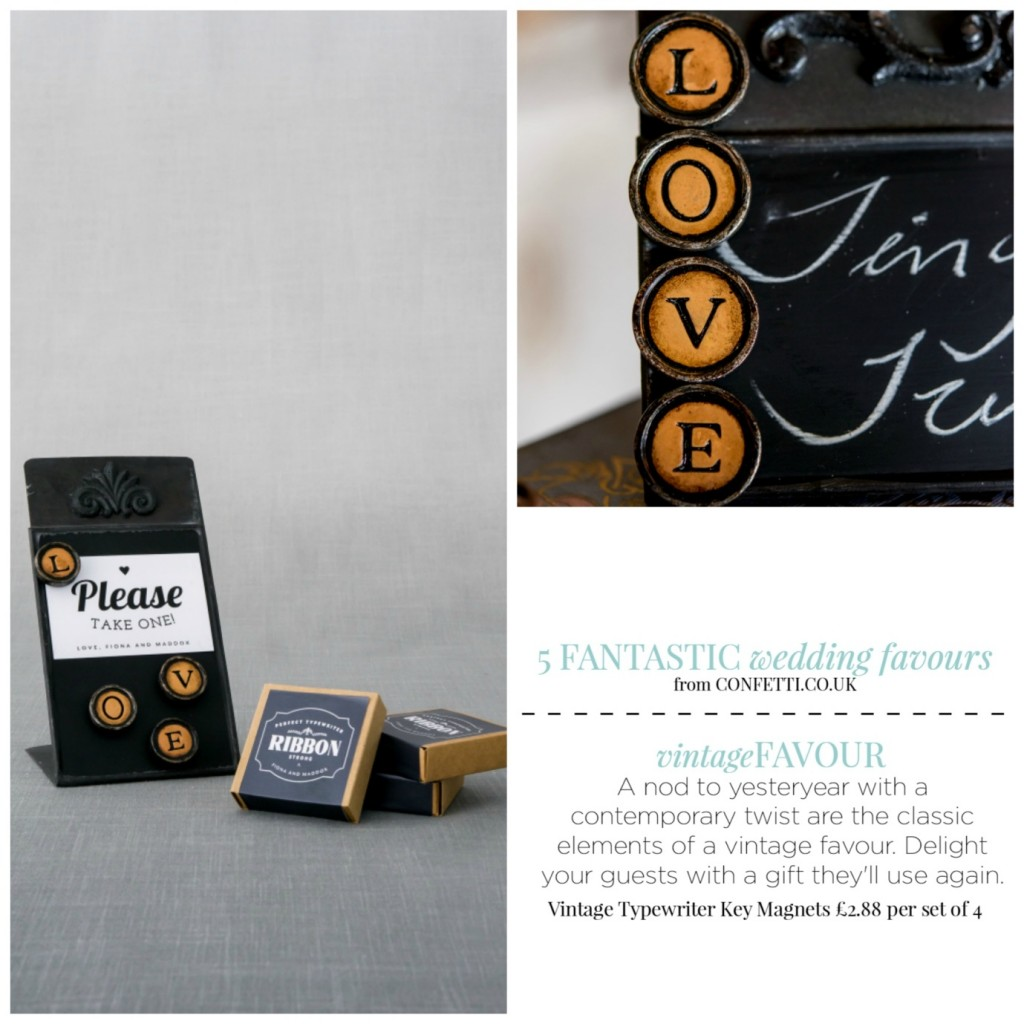 5 Fantastic Wedding Favours From Confetti The National