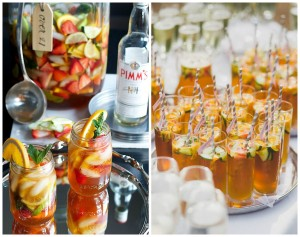 Pimms collage