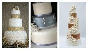 Warm Metallics Blog Post Collage