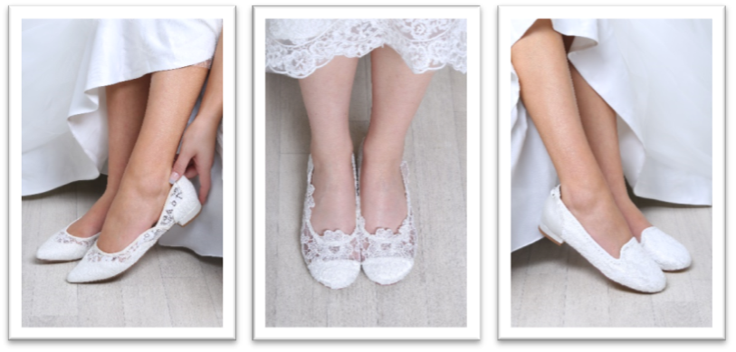 6cd969d5982e What shoes to wear on your wedding day! - The National Wedding Show